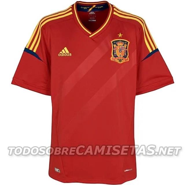 Raza humana autopista almacenamiento  Camisa Adidas de España para la EURO 2012 | Todo sobre el fútbol actual