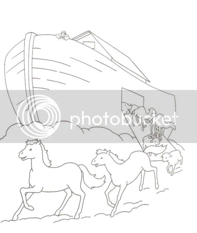 Toddler Bible Blog: Week 2b: Noah's Ark (3)