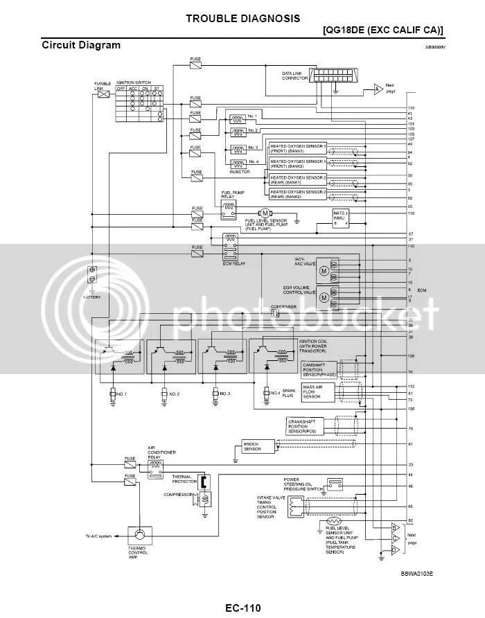 Qg18 Nissan Wiring Diagrams - Wiring Diagrams ROCK