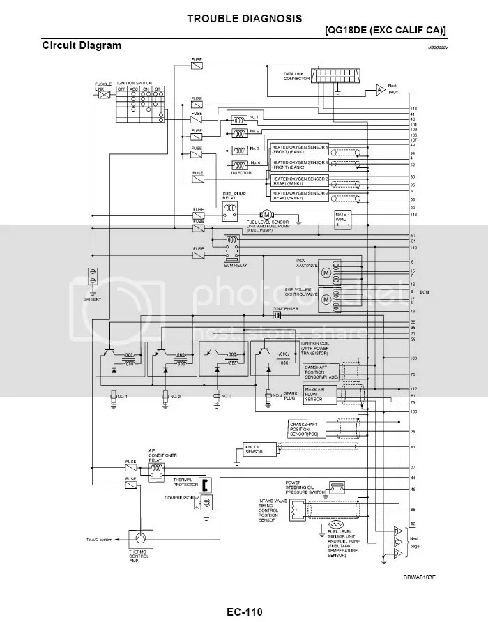 91 240sx ignition wiring diagram loncin 125 nissan qg15 ecu : 30 images - diagrams   creativeand.co