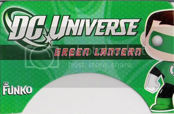 SDCC DC Funko Force 2 Green Lantern card front