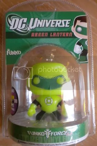 SDCC DC Funko Force 2 Green Lantern MOC