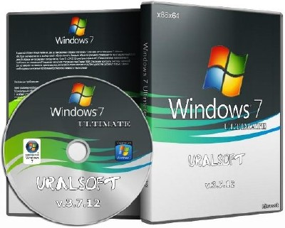 Windows 7 Ultimate UralSOFT 3.7.12 (x86/x64/RUS/2012)