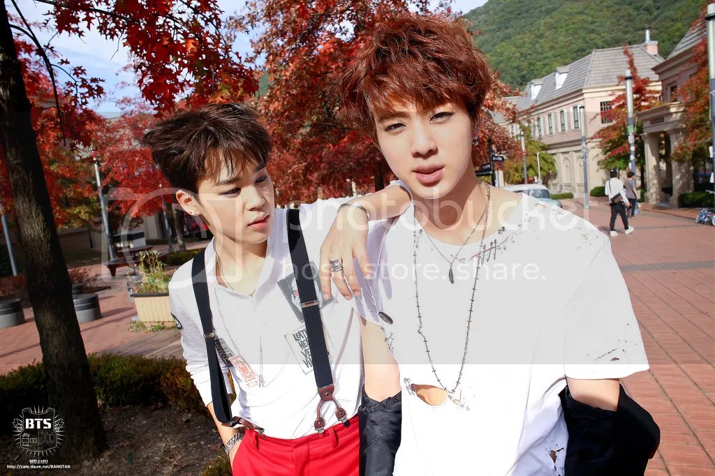 Picture/Fancafe] BTS Staff Diary : War Of Hormone M/V [141121]  
