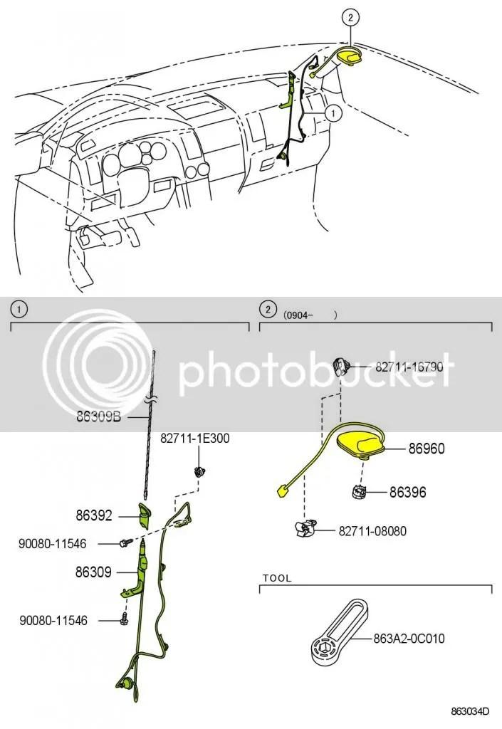 Toyota Sienna Antenna Diagram, Toyota, Get Free Image