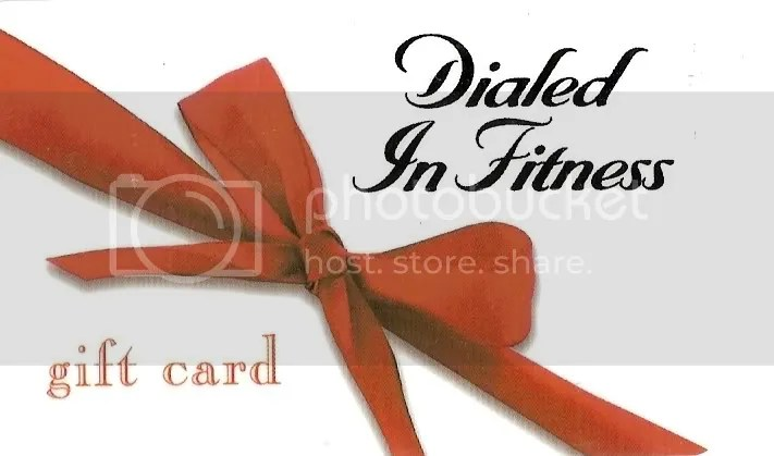 Give the best gift out ther...The Gift of Health with Dialed In FItness Gift Cards!