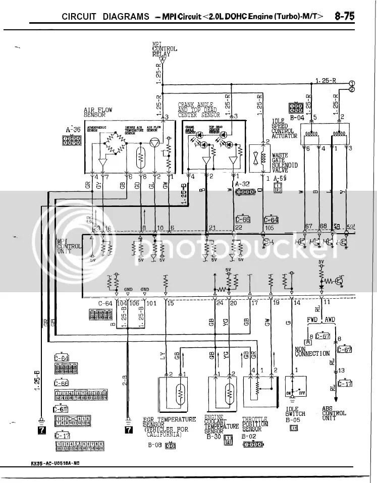 Need Mitsu Galant VR4 Wiring Diagram Zerotohundred Com