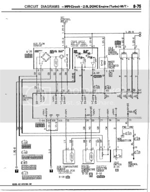 Need Mitsu Galant VR4 wiring diagram | Zerotohundred Forums