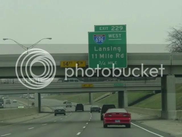 I-94 west to I-696 west