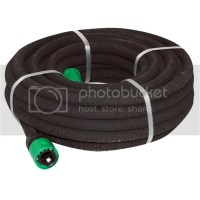 15M POROUS SOAKER HOSE WATER DRIP SEEP IRRIGATION FLEXIBLE ...