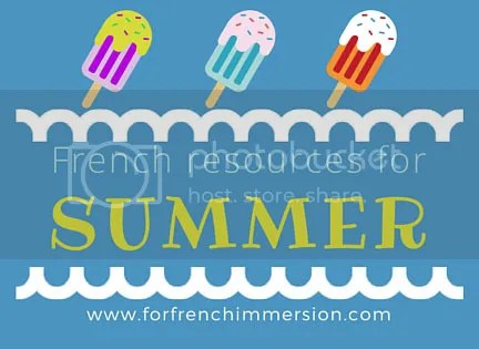 French Summer Resources for your Classroom