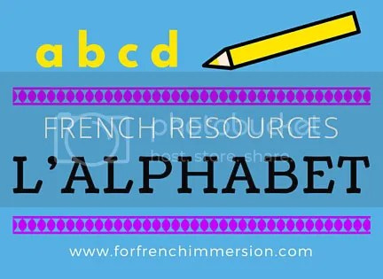 French ALPHABET resources for your French classroom