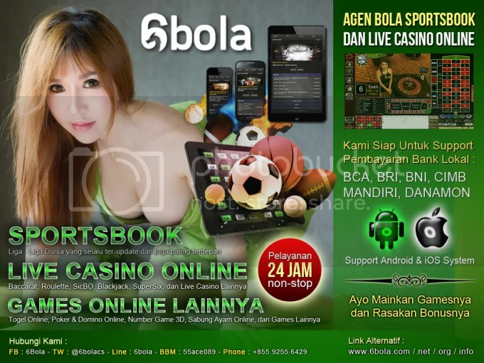 6bola Agen Judi Bola Kasino Togel Poker Number Game Sabung Ayam Terpercaya Indonesia