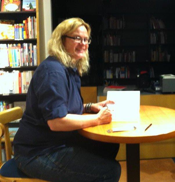 Karen Duve bei Graff