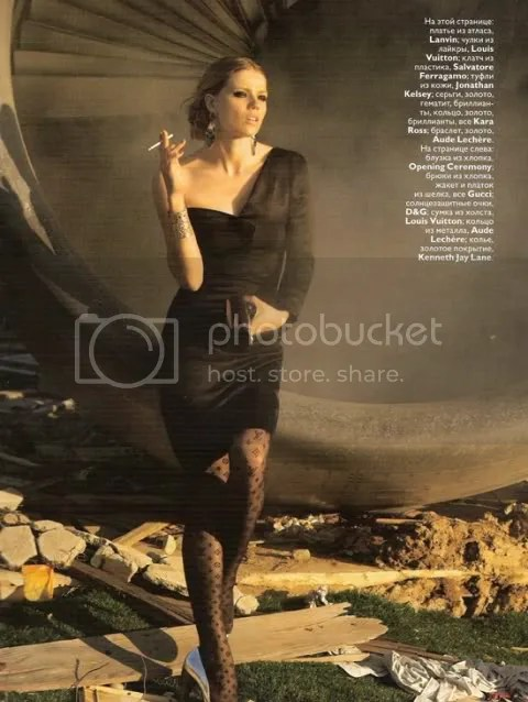 Vogue Russia October 2008