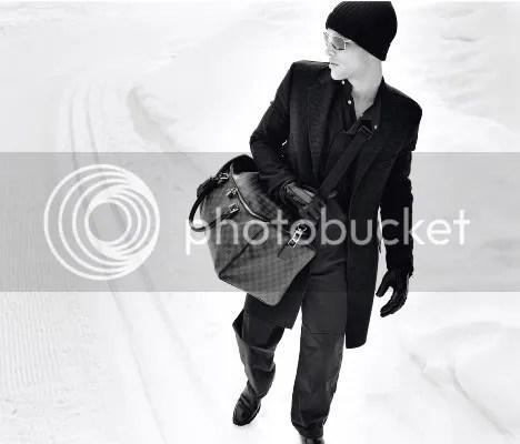 Louis Vuitton Damier Graphite at Men's Fall Catalog