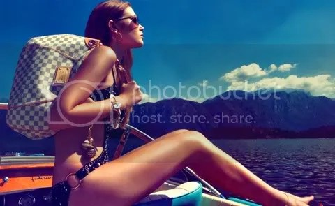 Louis Vuitton Cruise 2009 Ad Campaign