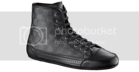 Louis Vuitton Damier Graphite Sneaker Boot