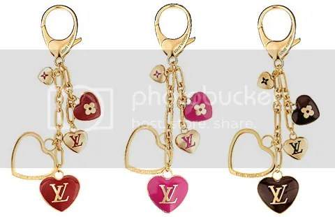 Louis Vuitton Cœurs Bag Charm