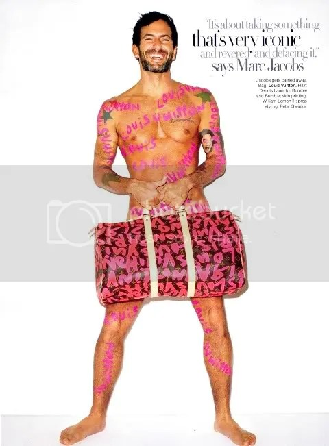 Harper's Bazaar January 2009: Marc Jacobs