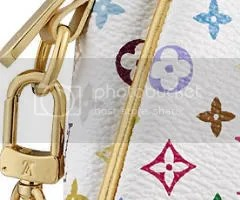 Louis Vuitton Kate Clutch in Monogram Multicolore