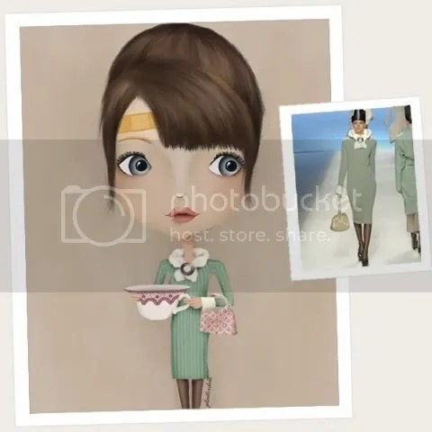 Louis Vuitton Plasterdoll