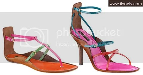Louis Vuitton Mango Sandal Collection