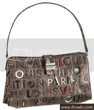 Louis Vuitton Monogram Collage Lutèce