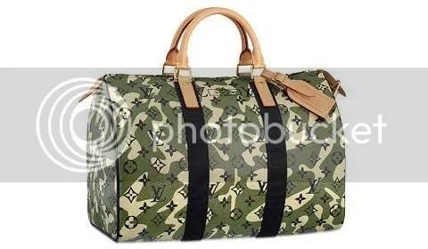 Louis Vuitton Monogramouflage Speedy 35