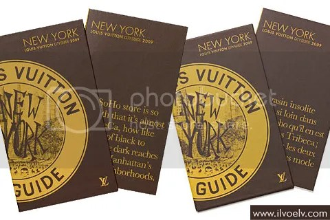 Louis Vuitton City Guide 2009: New York
