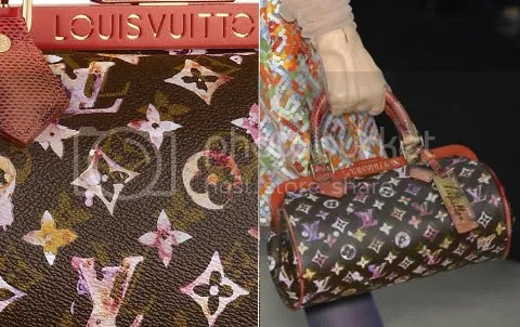 Louis Vuitton Watercolor Papillon Frame