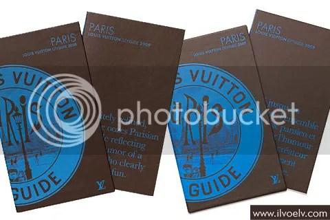 Louis Vuitton City Guide 2009: Paris