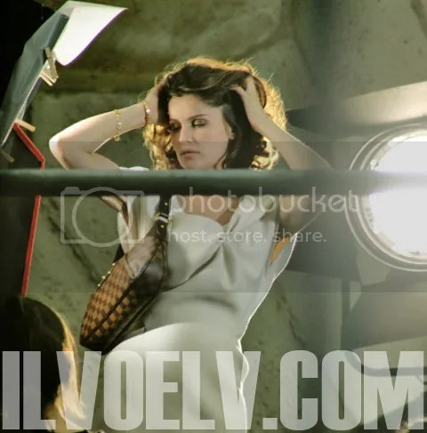 Making of Laetitia Casta's Ad Campaign for Louis Vuitton