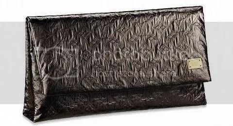 Louis Vuitton Monogram Limelight Clutch GM in Black