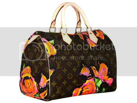 First Look: Louis Vuitton Graffiti & Rose Collection