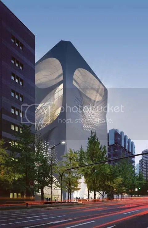 Proposed Louis Vuitton Flagship Store in Japan