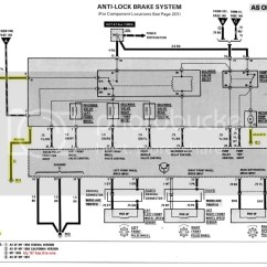 Mercedes W124 Abs Wiring Diagram 1987 Toyota Pickup Vacuum Line Light On And No Elect Windows Working Peachparts For My 87 300d Turbo Om603 Should Be Similar To The 1985 W123 Chassis
