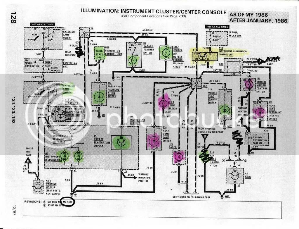mercedes w124 abs wiring diagram 2006 pontiac vibe radio best library blogs