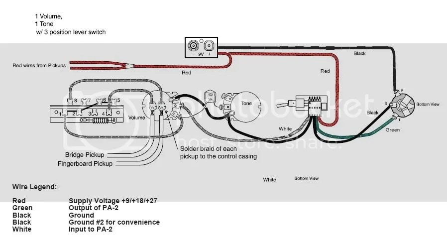 Emg Wiring Diagram 1 Volume