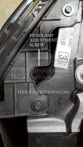 ford raptor headlight adjustment