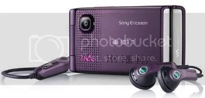 Sony Ericsson W380a Cell Phone