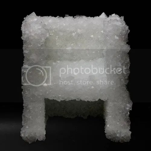 Growing A Natural Crystal Chair