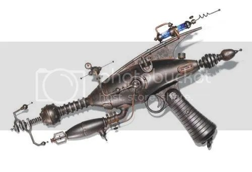 The Steampunk Ray Guns