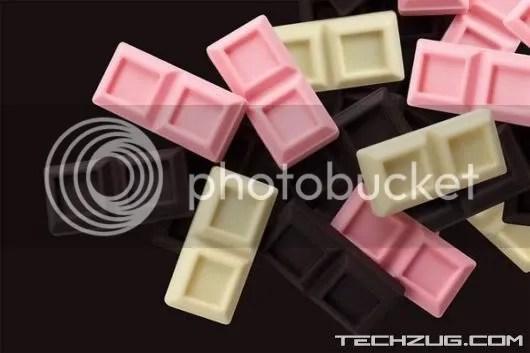 Chocoshuffle iPod Looks like Chocolate