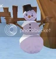 A snowman from Town Lime - wonder if he wants an Irn-Bru...