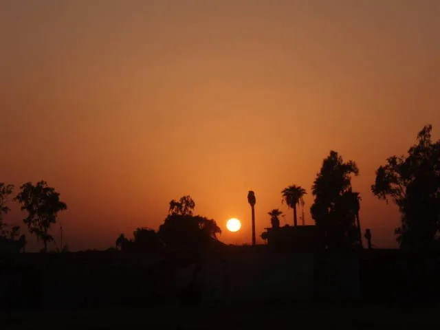 Ramadi Sunset