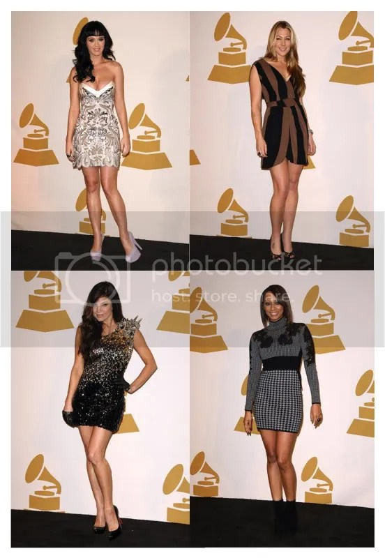 keri hilson,fergie,colbie caillat,katy perry,casadei,houndstooth,mini,red carpet,fashion,grammy,nominations,2009