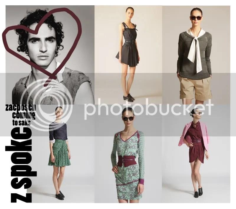 zac posen,fashion,saks,saks fifth avenue,zspoke,collaboration