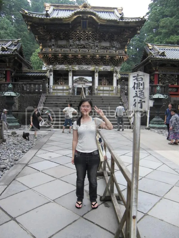 The Final gate to Toshogu Shrine itself. Picture time!