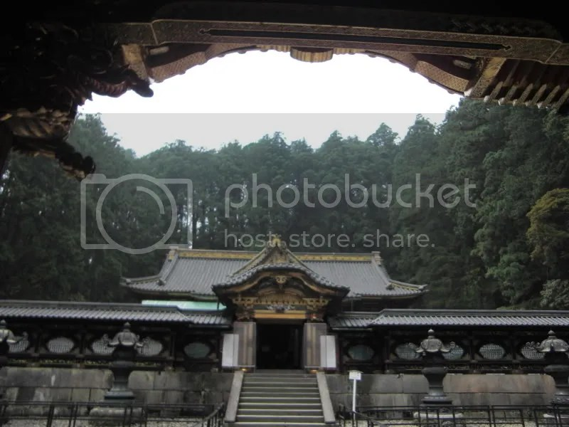 After more climbing up 3 flights of steps, the shrine. Its as far as we could go as the path to the top is closed off. Thank goodness...